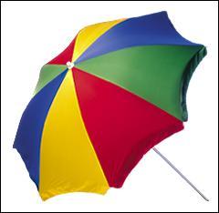 Please bring an umbrella ____ it rains