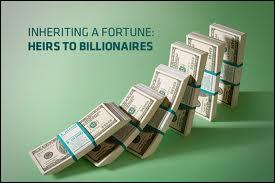 ____ you inherit a fortune, it's necessary to work hard and save up
