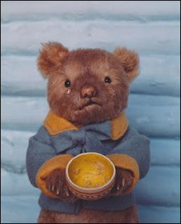 ... eaten my porridge cried the Baby bear?