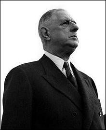How long did Charles de Gaulle remain President of the Republic ?