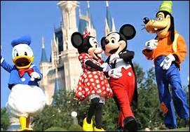 Who welcomes you at Disneyland everyday?
