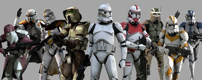 Star Wars : Clone Troopers