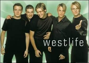 What was Westlife's first song?