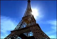 In what city you can see the Eiffel Tower?