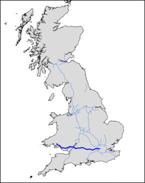 Driving from London to South Wales which motor way would you take ?