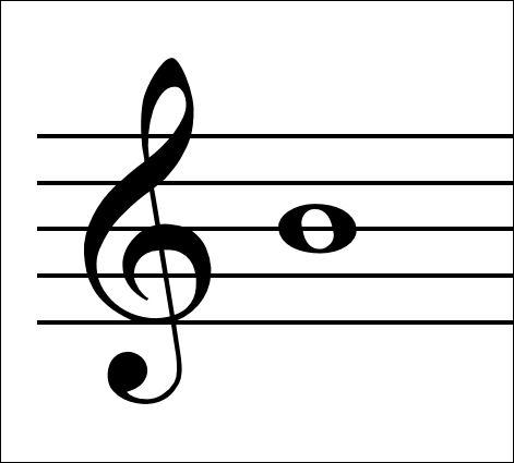 Name the note in the picture.