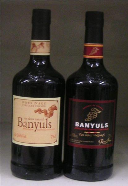 "Where does ""Banyul"" wine come from?"