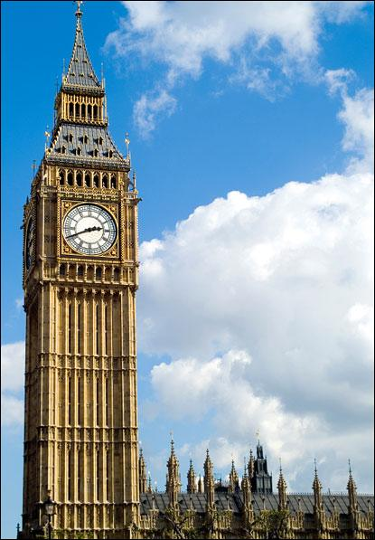 Where can Big Ben be seen?