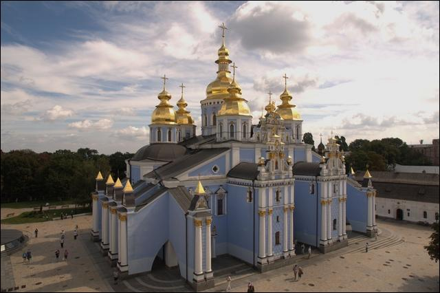 Where can we see St. Michael's Monastery ?