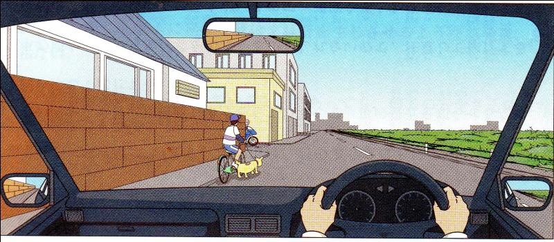 You are travelling at 30 km/hr. What are cautions you should do?