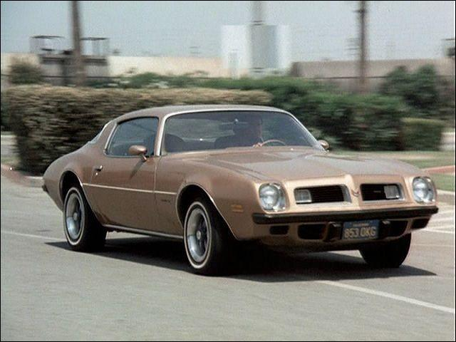 Which television detective drove this golden Firebird?