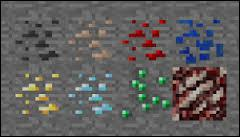 Speaking of ores, which one is the rarest in the game?