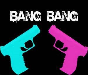 Other than Ariana Grande and JJ, who sings Bang Bang?