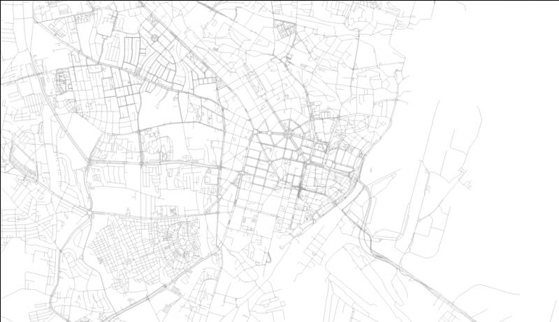 The first one was easy, so now it's time for something more difficult. Which Polish city has this almost Haussmann's Paris-like layout in its center?