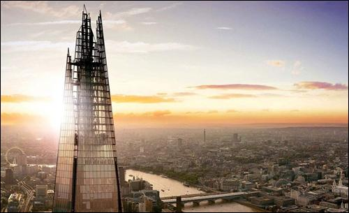 Tell me : How long did it take to build the Shard ?