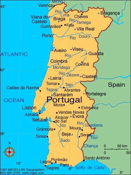 And now we can see the Portugal !