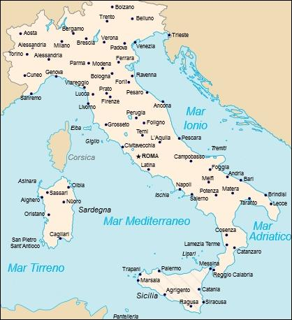 Can you see Italy here? Well... I don't think so...
