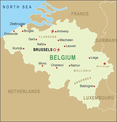 This is Belgium. I can't see any problem with geography here...