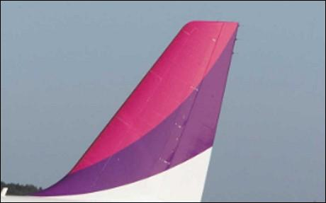 What airline has the tail below?