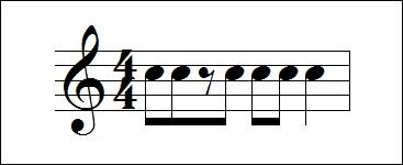Pick the correct rhythm counting for this measure.