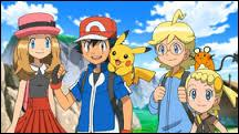 Who were Ash's travelling companions in the X & Y series?