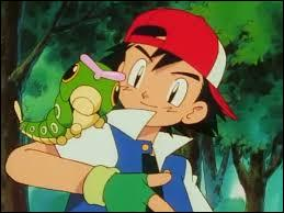 Which type pokemon did Ash catch first?