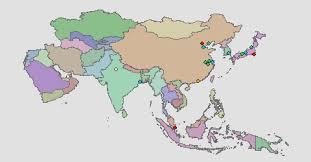 Capitals : Asia