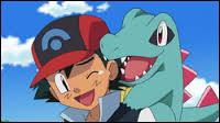 What is Ash's starter pokemon in Johto league?