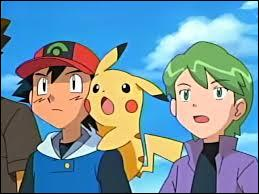 Who is ash's rival in heartgold & soulsilver series?