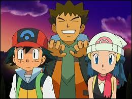 Who are Ash's companions in Sinnoh region?