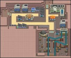 In which city is the first gym of Sinnoh located?