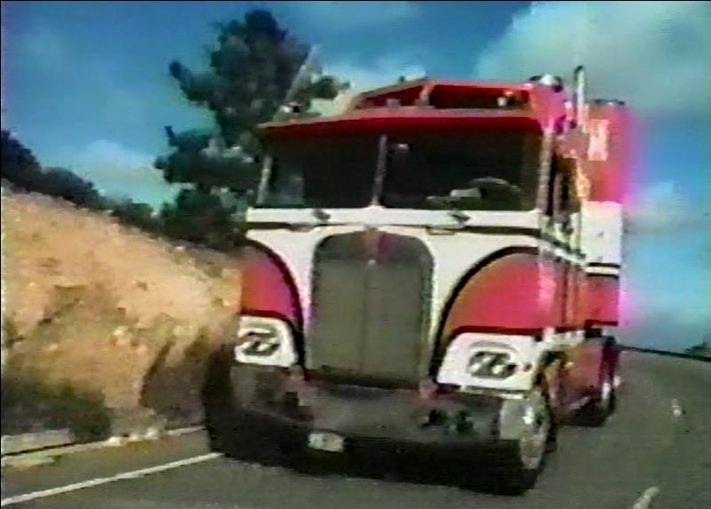 What TV Show did this truck Star in?