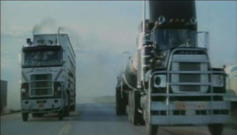 What Movie did these two trucks Star in?