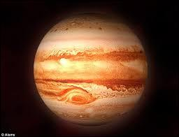 What is the name of big storm seen in jupiter?