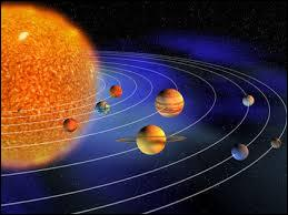 What is the name of the unseen force that attracts the planets to circle in thier orbits?