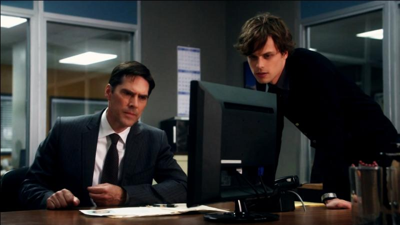What question does Hotch ask Reid when he arrives with a new haircut?