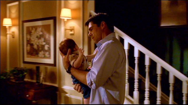 In the very first episode, which name comes to Hotch's mind when Haley suggests him Charles as first name for their son?