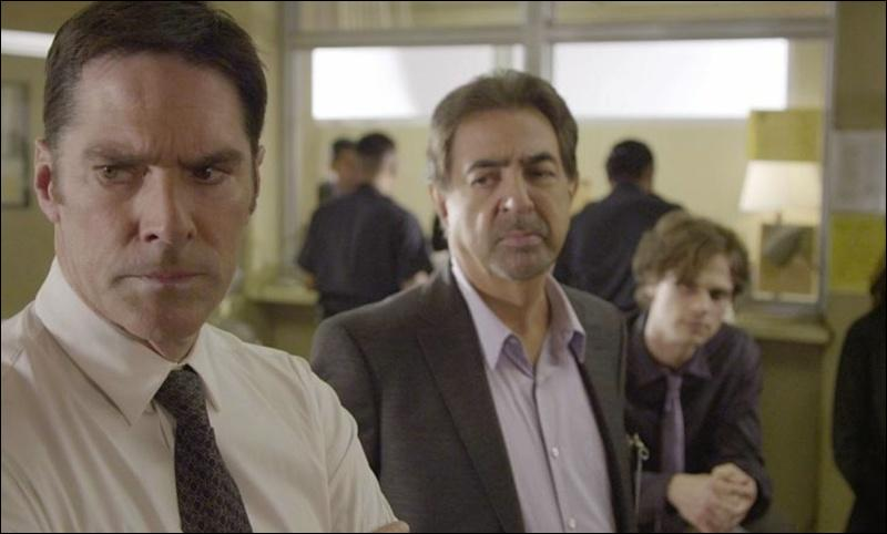 After 10 years of retirement, David Rossi is back to the BAU, but how long haven't they seen each other?