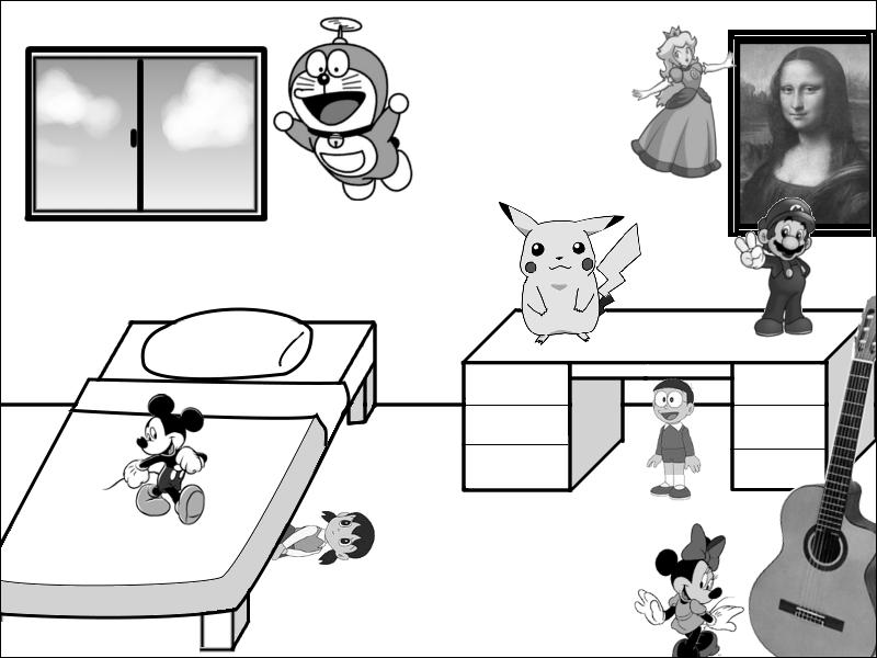 Where is Mickey?