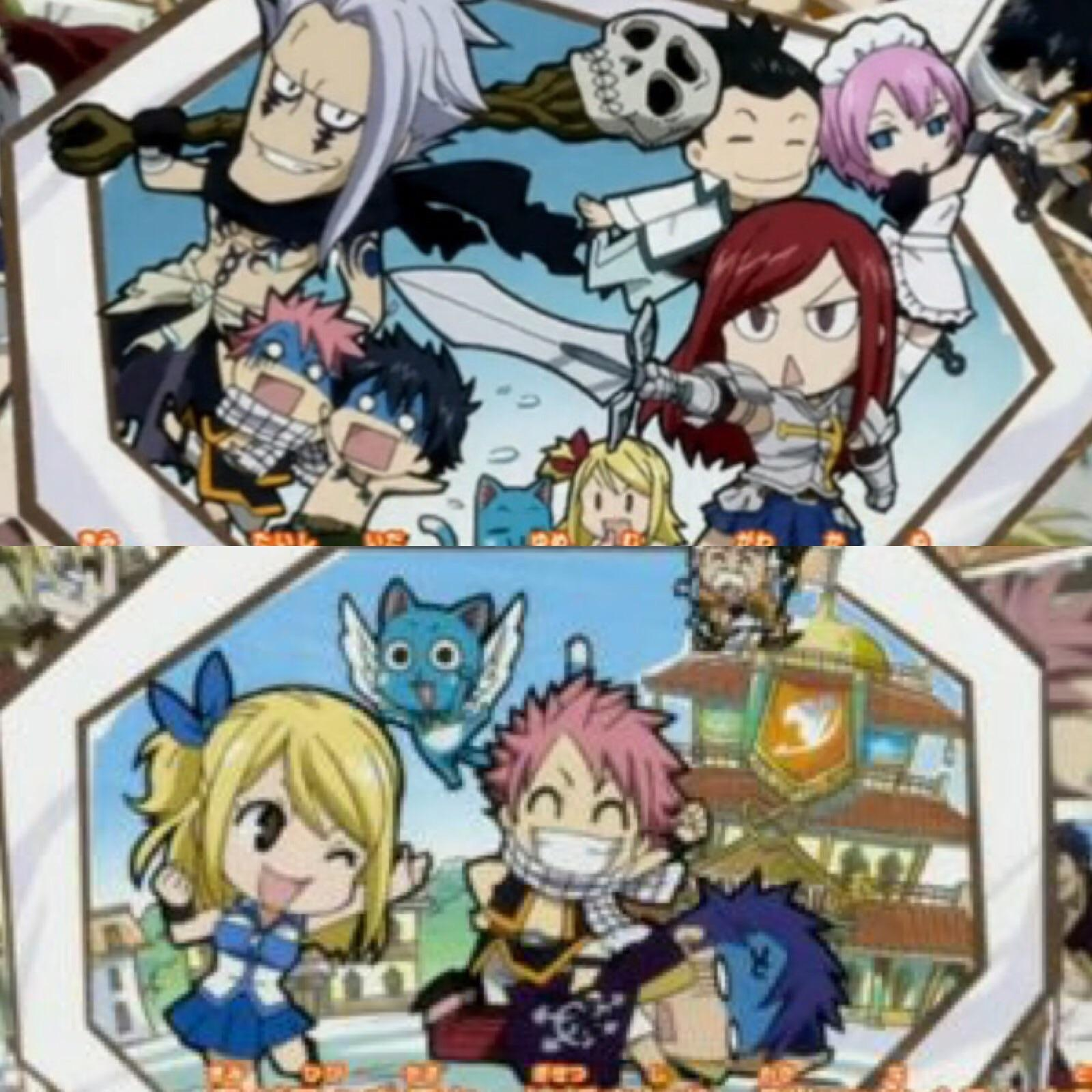 Fairy Tail : Macao, Daybreak and Lullaby arc