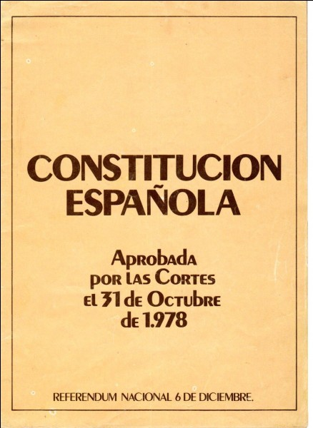 What is the Spanish Constitution?