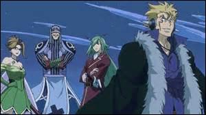 Which of this people has a last name? Laxus, Freed, Evergreen, Bickslo.