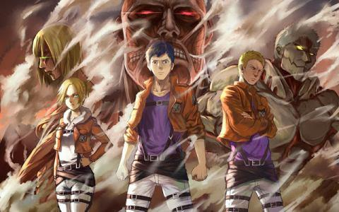 Attack on Titan - Characters