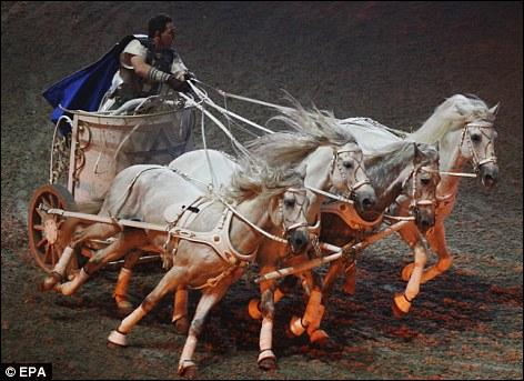 Where did the Romans watch chariot races?