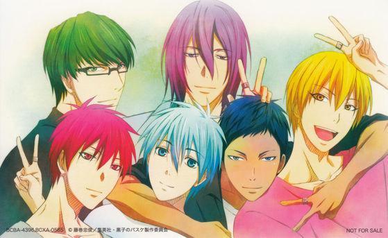 Kuroko no Basuke (Kuroko's Basket) - Characters