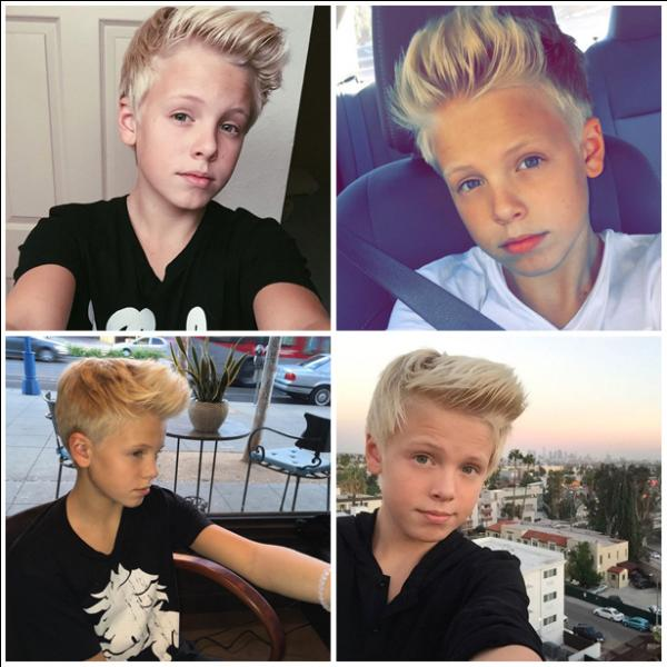 When was born Carson Lueders?