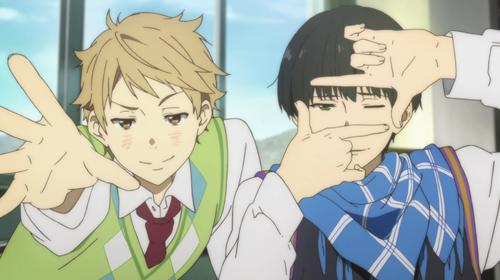 Characters from 'Beyond the Boundary'