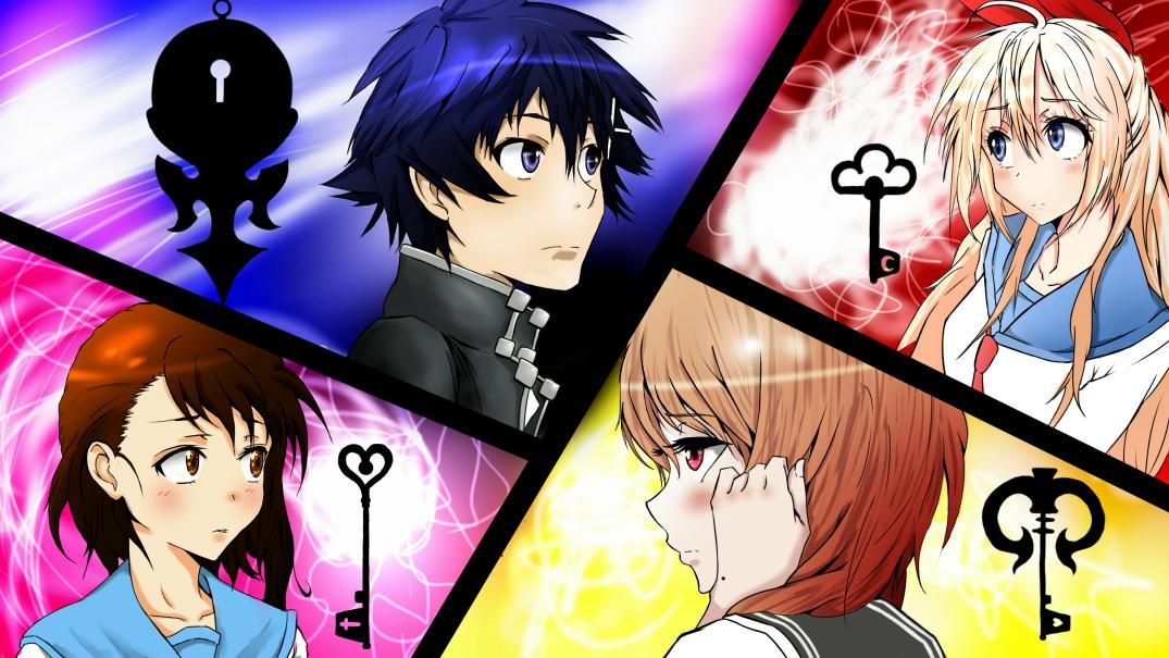The characters from 'Nisekoi'