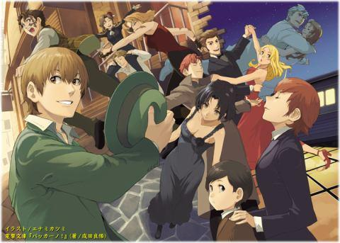 The characters of 'Baccano'