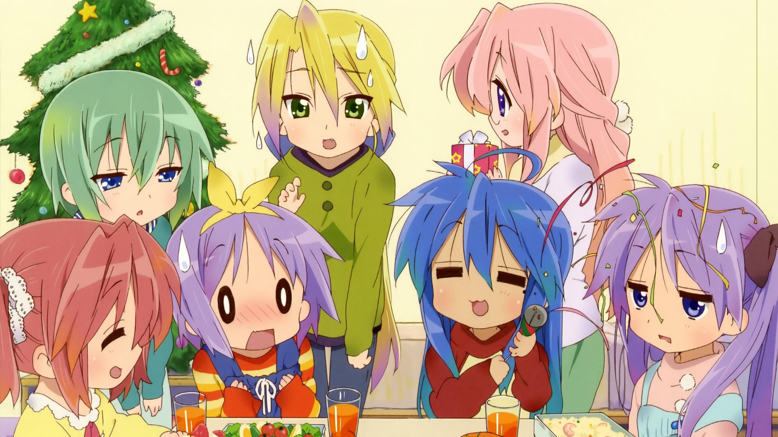 The Characters from 'Lucky Star'